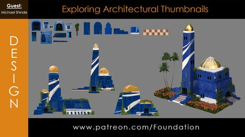 Foundation Art Group - Exploring Architectural Thumbnails with Michael Shinde
