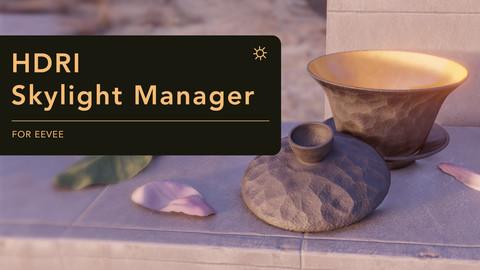 HDRI Skylight Manager (for Blender)