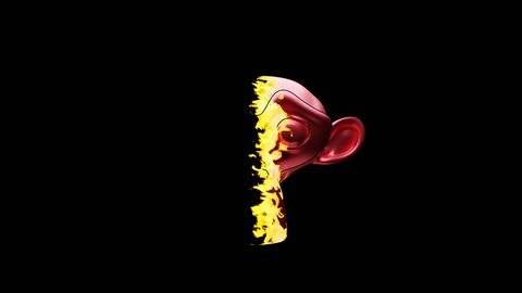 FLAMES ON SUZEN | BLENDER 2.8x