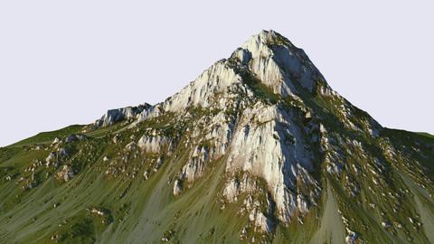 Grass mountain - World Machine