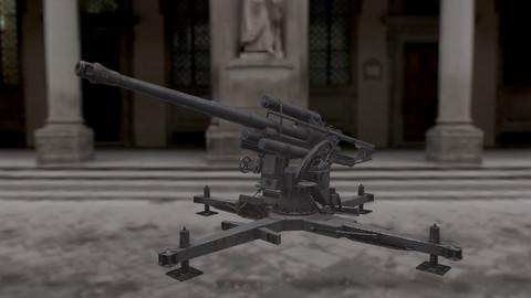 88mm Flak  88mm Flukabwehrkanone