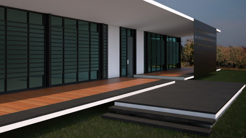 Capuchino House by DOCE Ingenieros Arquitectos - Autodesk Revit 3D model