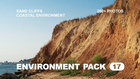 Env Pack 17 / Sand cliffs and Coastal environment / Reference pack