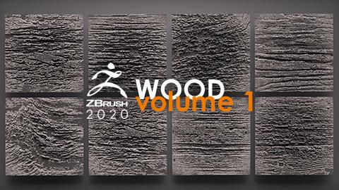8 HD Wood Alphas vol. 1