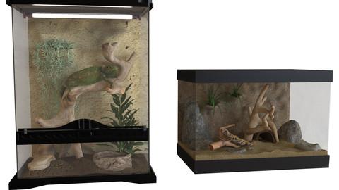 Reptiles terrarium Decoration