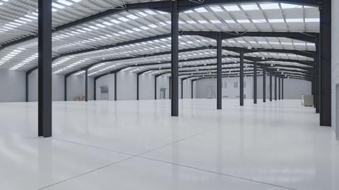 Industrial Warehouse Interior 10