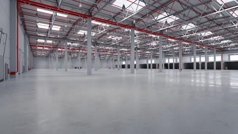Industrial Warehouse Interior 8