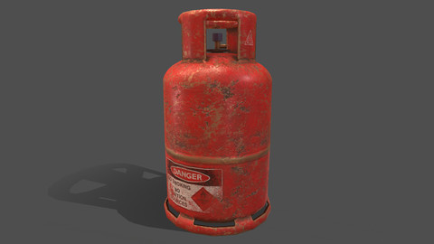 PBR Cooking Gas Cylinder - Red