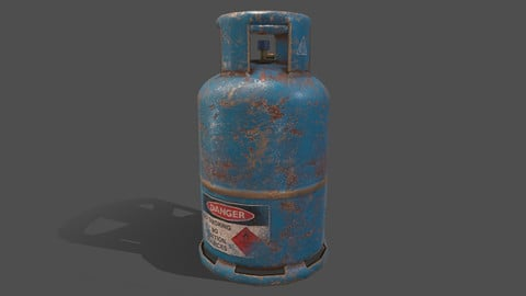 PBR Cooking Gas Cylinder - Blue