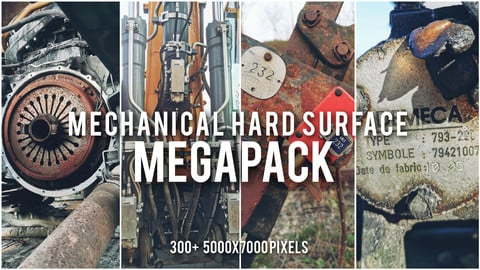 Mechanical Hard Surface References MEGAPACK