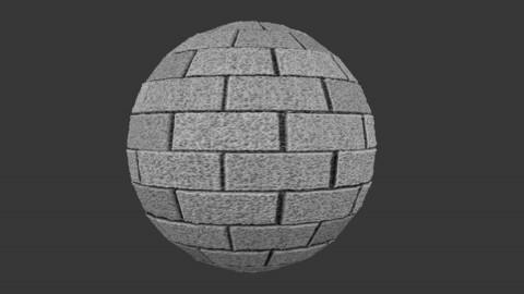 SEAMLESS WALL BLOCK TEXTURE 3