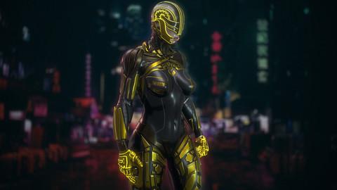 Сyberpunk Female