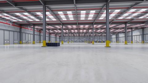 Industrial Building Interior 7