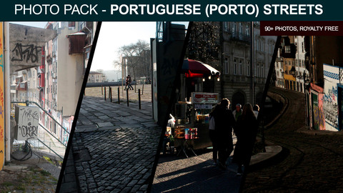 Photo Pack: Portuguese (Porto) Streets & Alleys