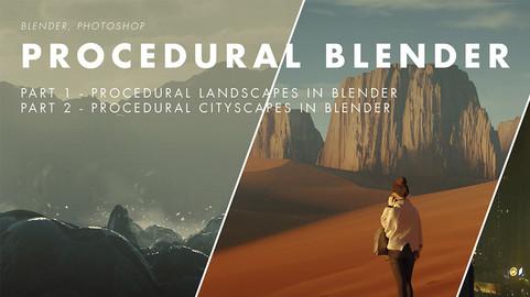 Procedural Blender - Megapack