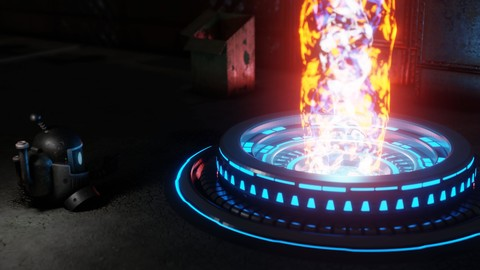 Arc Reactor | Blender 2.8x | Sci-Fi