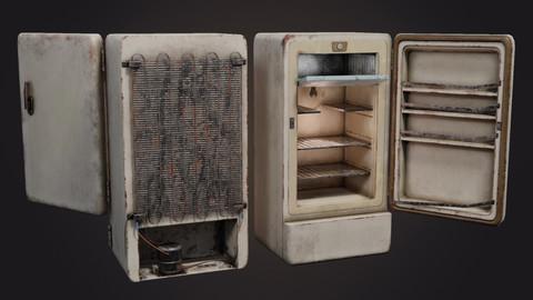 Abandoned Refrigerator