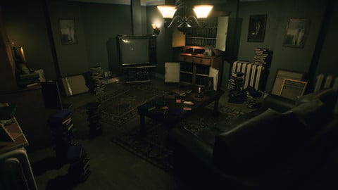Horror Living Room - Asset Pack UE4