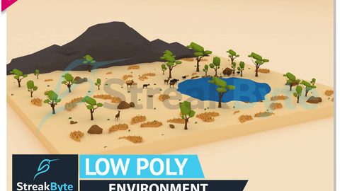 Low Poly Forest Environment