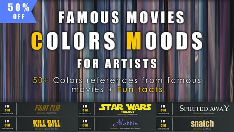 50% OFF// Famous Movies COLORS MOODS for Artists