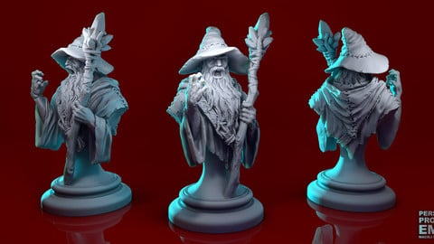 Generic Mage for 3D print