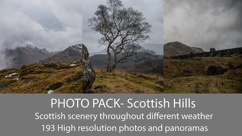 Scotland, Scottish Hills Photo Pack