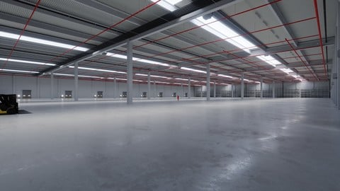 Industrial Warehouse Interior 6