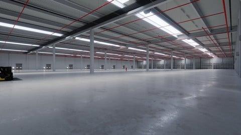 Industrial Warehouse Interior 6