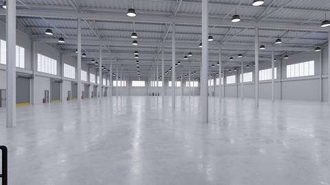 Industrial Warehouse Interior 5