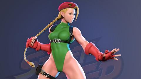 Cammy - Street Fighter Fanart