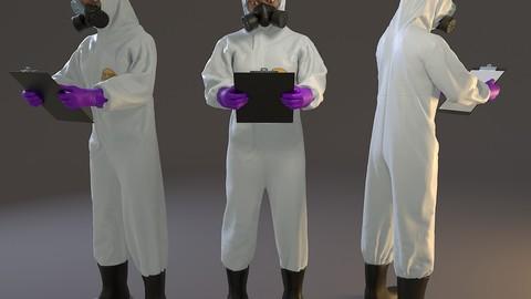 Biohazard Suit Female ACC 2130 008