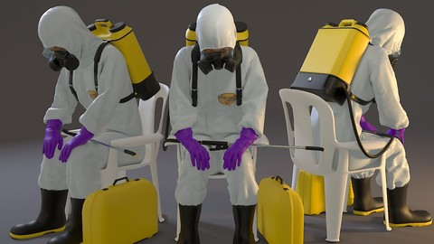 Biohazard Suit Female ACC 2130 010