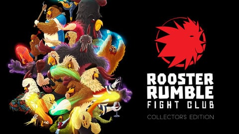 Rooster Rumble Fight Club Graphic Novel