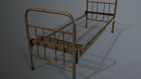 Bed iron ussr
