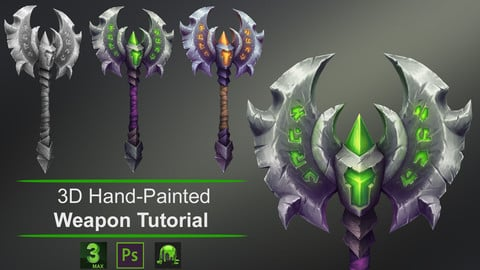 Creating a 3D Hand-Painted Weapon Tutorial