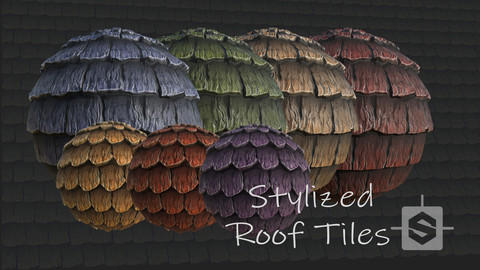 Stylized Roof Tiles