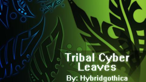 Tribal Cyber Leaves.