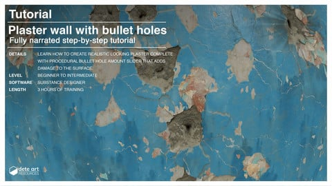 Tutorial | Plaster Wall with Parameter-driven Bullet Holes