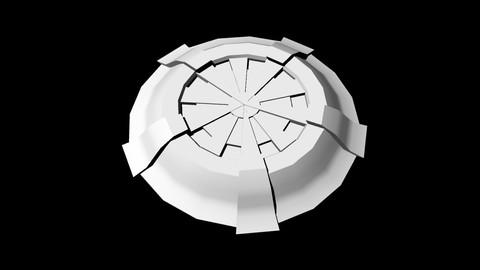 Sci-Fi Shield untextured