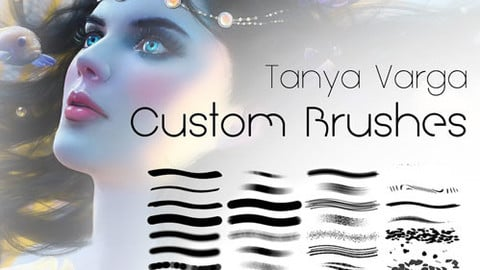 Tanya Varga Custom Painting Brushes for Adobe Photoshop Full Set