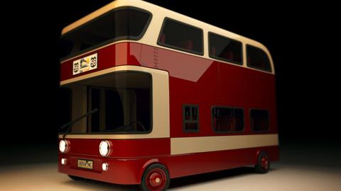 Stylized Bus