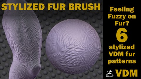Stylized Fur VDM Brush