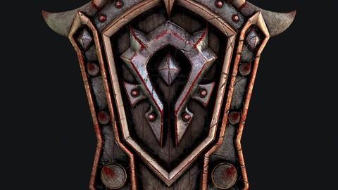 Fantasy shield 5 3d model