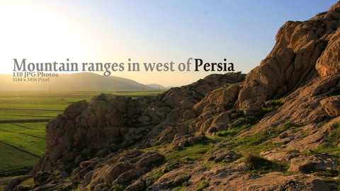 Mountain ranges in west of Persia