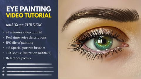 Eye Painting In Photoshop - Video Tutorial