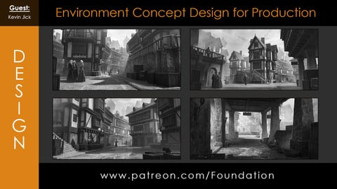 Foundation Art Group - Environment Concept Design for Production with Kevin Jick