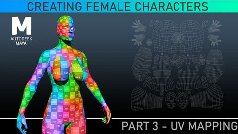 UV Mapping - Maya Tutorial