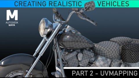 Hard Surface UV Mapping