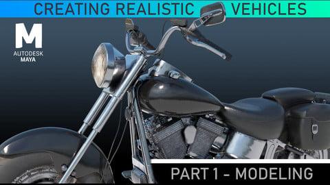 Hard Surface Vehicle Modeling