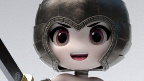 Gaya Warrior / SD Character Modeling